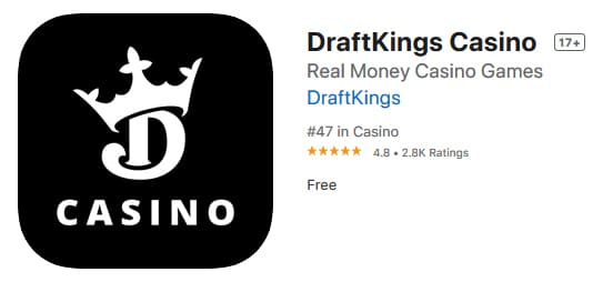 draftkings casino apple ratings