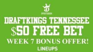 Register on DraftKings Sportsbook Tennessee for a $50 Risk-Free Bet Now