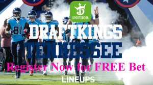 DraftKings Sportsbook Tennessee: $50 Free Bet (October Only)