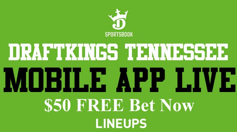 draftkings tennessee mobile app live