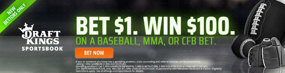 draftkings world series promo 970X250