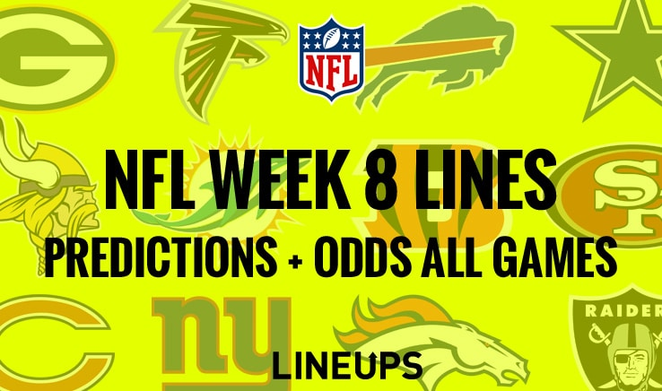 Nfl week 8 betting line asian handicap football betting