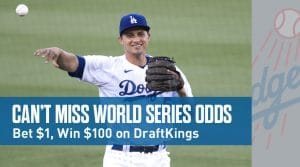 DraftKings Sportsbook New Jersey: UFC 254 & World Series 100-1 Odds