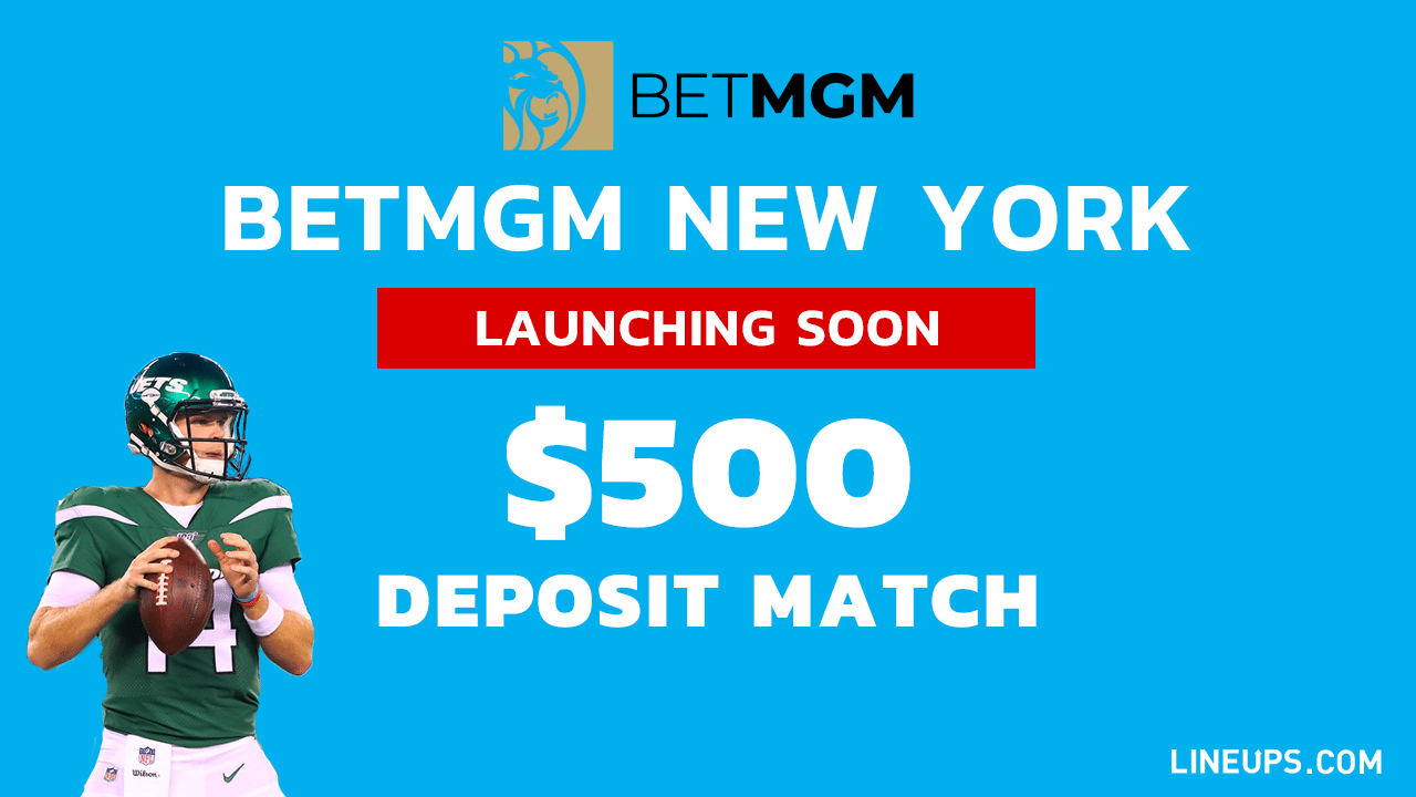 BetMGM New York $500 deposit Match for new users 1280
