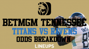 Get Titans +230 on BetMGM Tennessee This NFL Sunday