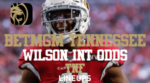 Russell Wilson at +140 to Throw INT on Thursday Night with BetMGM Tennessee