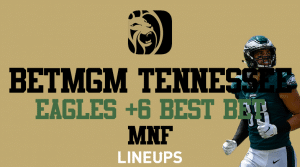 Monday Night Football Best Bet For BetMGM Sportsbook Tennessee