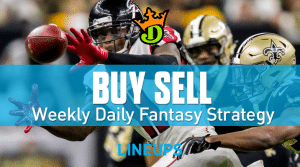 DraftKings NFL Week 9 Buy Sell + Optimal DFS Lineups
