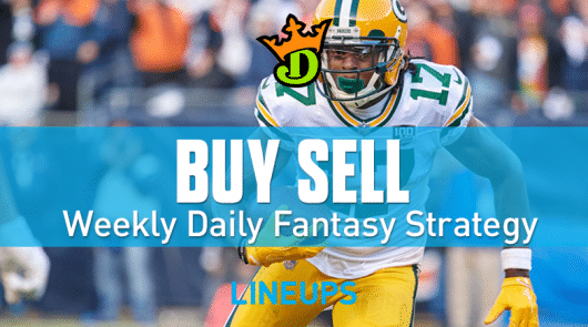 DraftKings NFL Conference Championship Round Top Plays, Game Stacks + Optimal DFS Lineups
