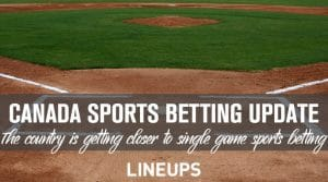 Canada Getting Closer to Legalizing Single Game Betting