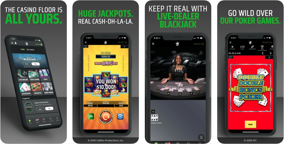 DraftKings Casino Mobile