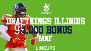 Illinois Here is How to Receive a $1,000 Bonus for MNF With DraftKings