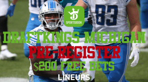 Get $200 of Free Bets with DraftKings Michigan Pre-Registration