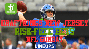 DraftKings Sportsbook New Jersey: Risk-Free Bet for NFL Sunday & NCAAF Best Bet
