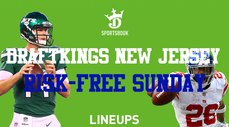 DraftKings Sportsbook New Jersey Risk-Free NFL Sunday Promotion