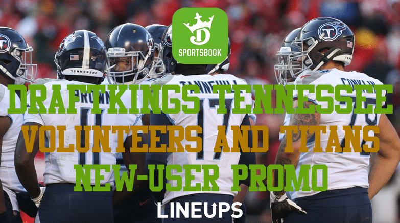 DraftKings Tennesse Titans and Volunteers Bet