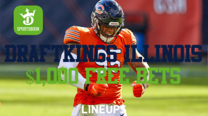 DraftKings Illinois: How to Receive $1,000 in Free Bets for NFL Sunday