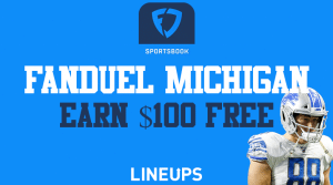 How to Receive a Free $100 With FanDuel Sportsbook Michigan