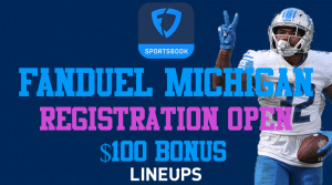 FanDuel Michigan is Handing Out $100 in Free Bets for Signing Up