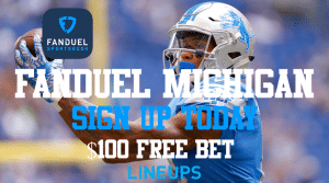 Receive $100 in Bonuses When You Sign-Up with FanDuel Michigan