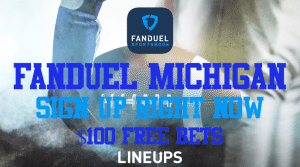 If You Want $100 in Free Bets, Then You Can Sign Up for FanDuel Sportsbook Michigan, Right Now
