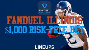 FanDuel Illinois is Offering a $1,000 Risk-Free Bet This NFL Sunday