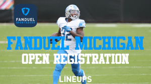 It's Official! Fanduel Sportsbook is First Michigan Sportsbook to Open Registration