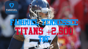 FanDuel Tennessee: Get a +2,500 Moneylines for Titans and Colts