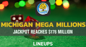 Michigan Mega Millions Reaches $176 Million! Get $100 Free + 60 Instant Games With Sign-Up Bonus Today