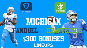 DraftKings & FanDuel Are Fighting For Users in Michigan: It Means $300 free for you!
