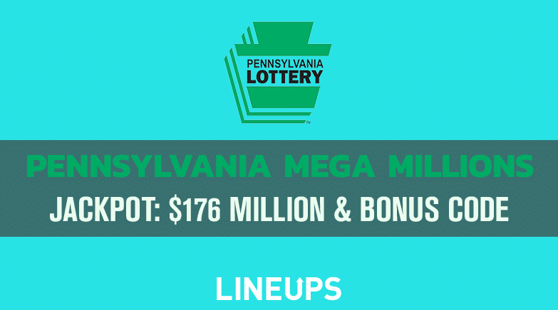 Pennsylvania Mega Millions Estimated At 176 Million Sign Up Now With Exclusive Ilottery Promo Code