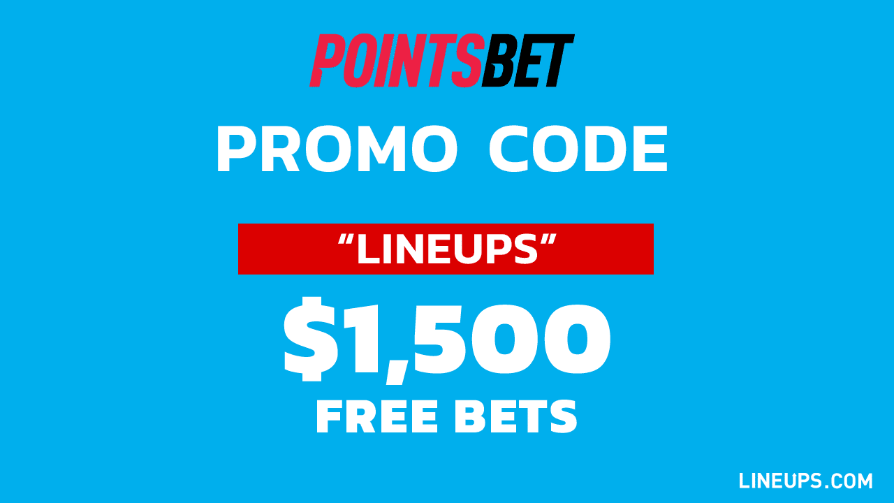 PointsBet Lineups $1500 Promo Code General