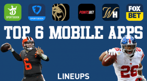 Best Six Mobile Sportsbook Apps in The United States