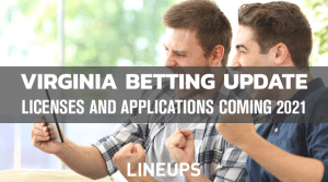 Virginia Mobile Betting Update: Projected Launch January 2021