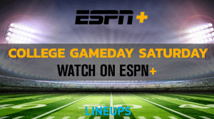 Watch College Football this Saturday on ESPN+