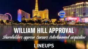 William Hill Shareholders Approve Caesar's Deal