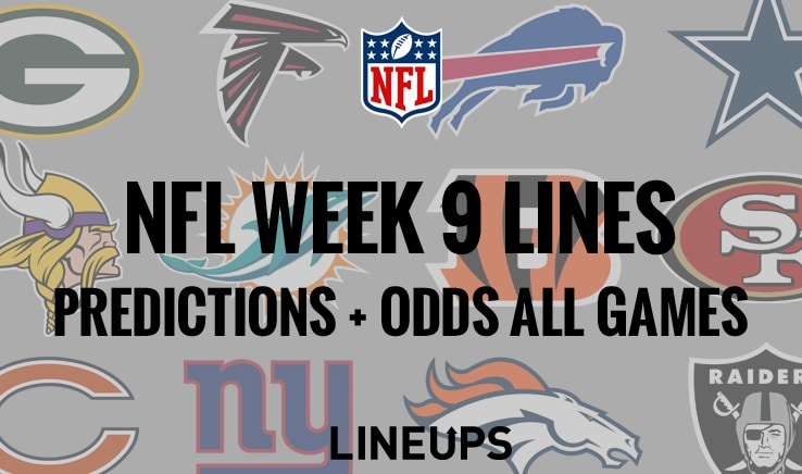 Nfl week 9 betting lines bitcoins legal in germany