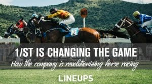How 1/ST BET Is Revolutionizing Horse Racing