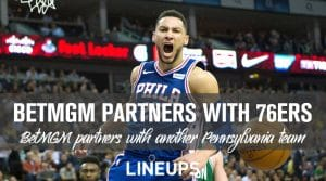 BetMGM Partners with the Philadelphia 76ers