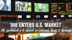 888 Sportsbook Expands Into Three More U.S. States