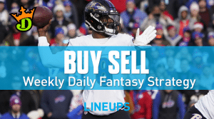 DraftKings NFL Wild Card Sunday Top Plays, Game Stacks + Optimal DFS Lineups