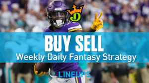 DraftKings NFL Week 13 Top Plays, Game Stacks + Optimal DFS Lineups