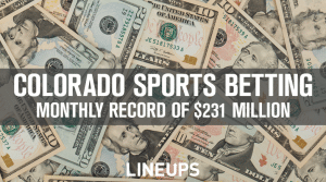 Colorado Sports Betting Hits New Monthly Record of $231 Million