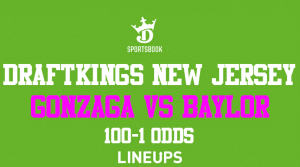 Get Insane +10,000 Odds for Baylor vs. Gonzaga With DraftKings New Jersey