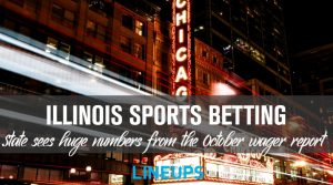 Illinois sees over $430 Million Bet in October