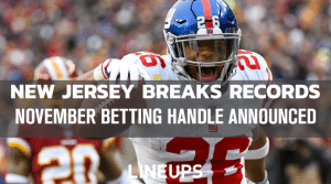 New Jersey Breaks Record for Highest Sports Betting Handle in a Single Month