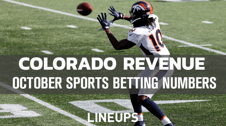 October Sports Betting Numbers Colorado