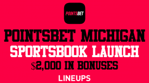 PointsBet Michigan Has Launched With $2,000 Worth of Welcome Bonuses
