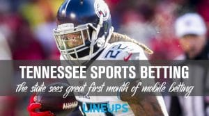Tennessee Sports Betting Reports $131.4 Million in First Month