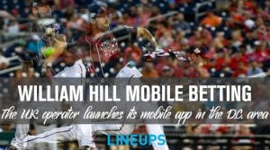 William Hill Launches Mobile Sports Betting in Washington D.C.